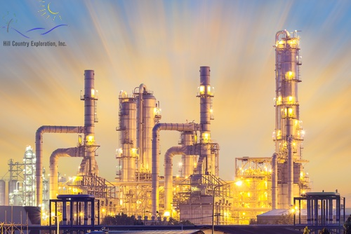 There are several methods of oil and gas refining.